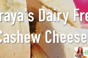 Vegan Cashew Cheese Recipe Super, Super Easy
